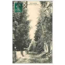 carte postale ancienne 55 SAINT-MIHIEL. Promenade de Bugnévaux 1910