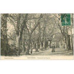 carte postale ancienne 55 SAINT-MIHIEL. Promenade des Capucins 1910