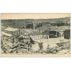 carte postale ancienne 55 VERDUN. Bombardement Archevêché. Guerre 1914-18
