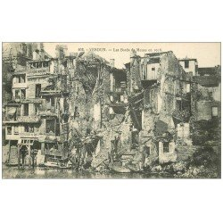 carte postale ancienne 55 VERDUN. Bords Meuse. Guerre 1914-18