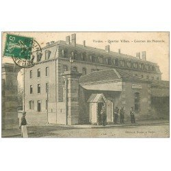 carte postale ancienne 55 VERDUN. Caserne Hussards Quartier Villard 1907