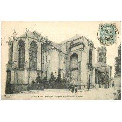carte postale ancienne 55 VERDUN. Cathédrale 1906