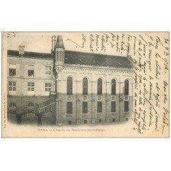 carte postale ancienne 55 VERDUN. Chapelle Pensionnat Saint-Joseph 1904