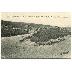carte postale ancienne 55 VERDUN. Côte Poivre route Carrières Haudromont. Guerre 1914-18