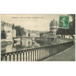 carte postale ancienne 55 VERDUN. Digue Pont d'Anthouard