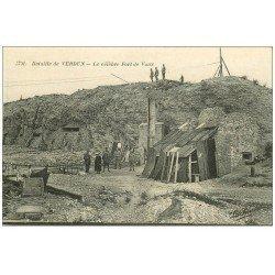 carte postale ancienne 55 VERDUN. Fort de Vaux. Guerre 1914-18