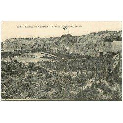 carte postale ancienne 55 VERDUN. Fort Douamont. Guerre 1914-18