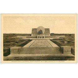 carte postale ancienne 55 VERDUN. Fort Souville Monument Maginot. Guerre 1914-18