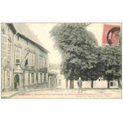 carte postale ancienne 55 VERDUN. Gendarmerie Place du Gouvernement 1907
