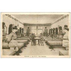 carte postale ancienne 55 VERDUN. Guerre 14-18. Une Chambre