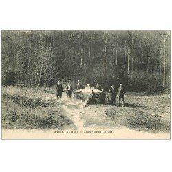 carte postale ancienne 57 AVRIL. Source d'Eau Chaude. Neufchef