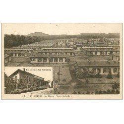 carte postale ancienne 57 BITCHE. Camp. Casino des Officiers 1926