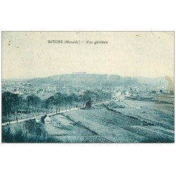 carte postale ancienne 57 BITCHE. Vue générale 1926