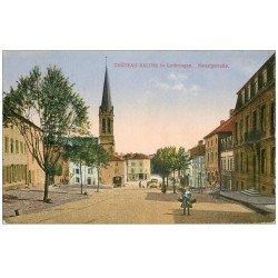 carte postale ancienne 57 CHATEAU SALINS in Lothringen. Nanzigstrasse 1918-1919