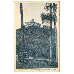 carte postale ancienne 57 DABO. Château Chapelle Saint-Léon 1930