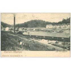 carte postale ancienne 57 HAYANGE HAYINGEN. Enfants Cité Gargan 1907