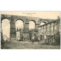 carte postale ancienne 57 JOUY. Les Arches 1912