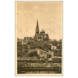 carte postale ancienne 57 MONTIGNY-LES-METZ. De la Rue des Roses 1951