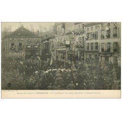 carte postale ancienne 57 MORHANGE. Compliment des petits Lorrains au Général Passaga en 1918