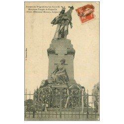 carte postale ancienne 57 NOISSEVILLE. Monument Français 1911