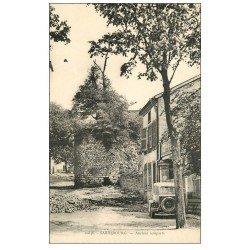 carte postale ancienne 57 SARREBOURG. Anciens Remparts et voiture ancienne 1939
