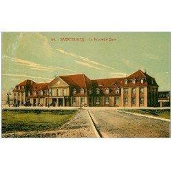 carte postale ancienne 57 SARREBOURG. La Nouvelle Gare