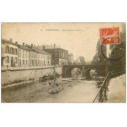 carte postale ancienne 57 SARREBOURG. Quai Général Lebrun 1919