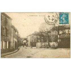 carte postale ancienne 57 SARREBOURG. Rue Kuchly 1923 Hôtel