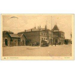 carte postale ancienne 57 THIONVILLE. La Gare 1949