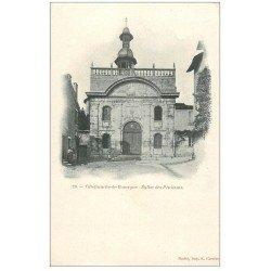 carte postale ancienne 12 VILLEFRANCHE-DE-ROUERGUE. Eglise des Pénitents.