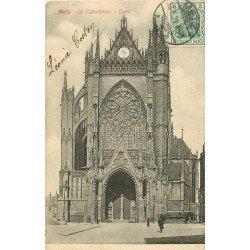 carte postale ancienne 57 METZ. Cathédrale 1908