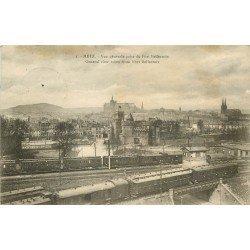carte postale ancienne 57 METZ. Vue prise du Fort Bellecroix 1923