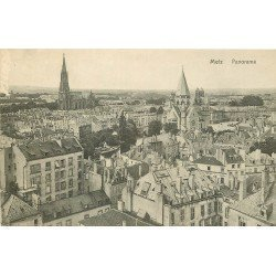 carte postale ancienne 57 METZ. Panorama