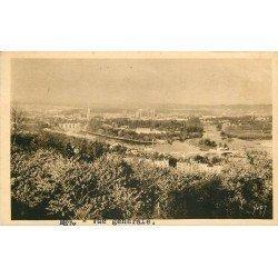 carte postale ancienne 57 METZ. Panorama 1939