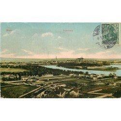 carte postale ancienne 57 METZ. Panorama 1913