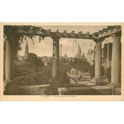 carte postale ancienne 57 METZ. Vue de la Pergola