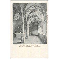 carte postale ancienne 12 VILLEFRANCHE-DE-ROUERGUE. Hospice, Ancienne Chartreuse. Chapelle du petit Cloître