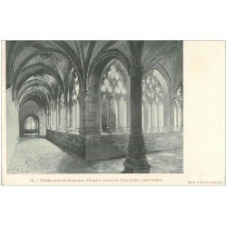 carte postale ancienne 12 VILLEFRANCHE-DE-ROUERGUE. Hospice, Ancienne Chartreuse. Cloître