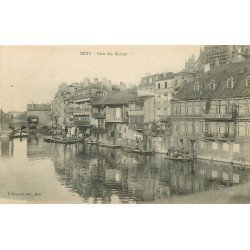 carte postale ancienne 57 METZ. Bain des Roches