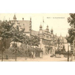 carte postale ancienne 57 METZ. Ex Kommandature 1923