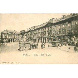 carte postale ancienne 57 METZ. Hôtel de Ville Stadthaus