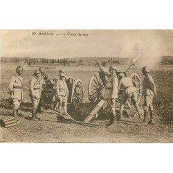 carte postale ancienne 57 METZ. Artillerie le Coup de feu 1936