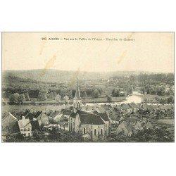 carte postale ancienne 58 ARMES. Vallée de l'Yonne