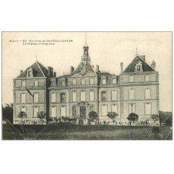 carte postale ancienne 58 CHATEAU D'ARGOULAIS 1906
