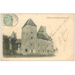 carte postale ancienne 58 CHATEAU DE VANDENESSE 1906