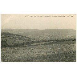 carte postale ancienne 58 CHATEAU-CHINON. Corancy et Route des Settons
