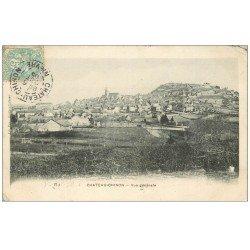 carte postale ancienne 58 CHATEAU-CHINON. Vue générale 1905