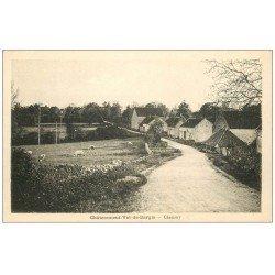 carte postale ancienne 58 CHATEAUNEUF-VAL-DE-BARGIS. Chamery