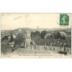carte postale ancienne 58 CHATILLON 1914
