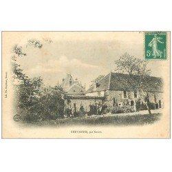 carte postale ancienne 58 CHEVANNES